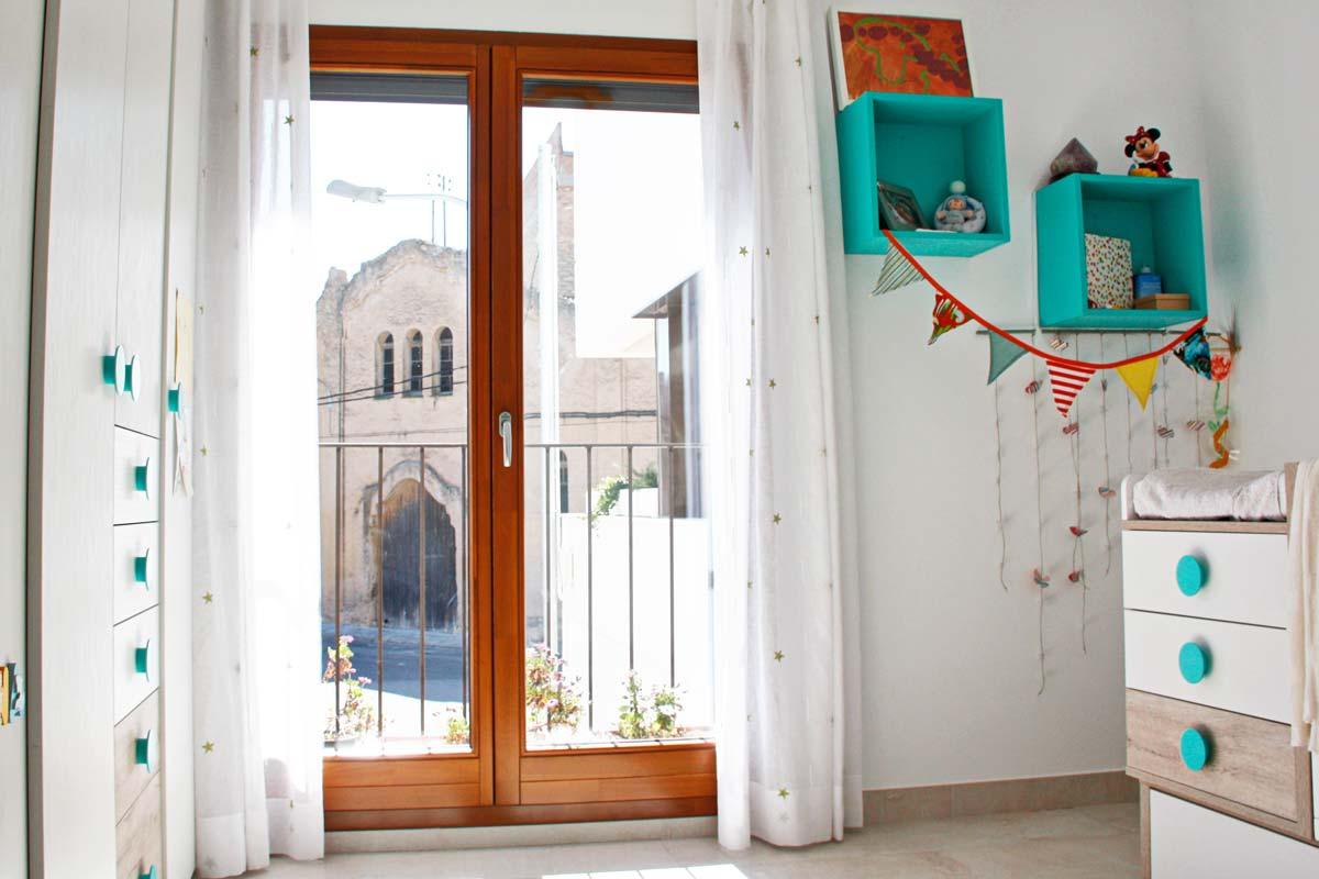 finestres de fusta fabricades per la fàbrica de finestres de fusta Carreté Finestres- Santa Coloma de Queralt