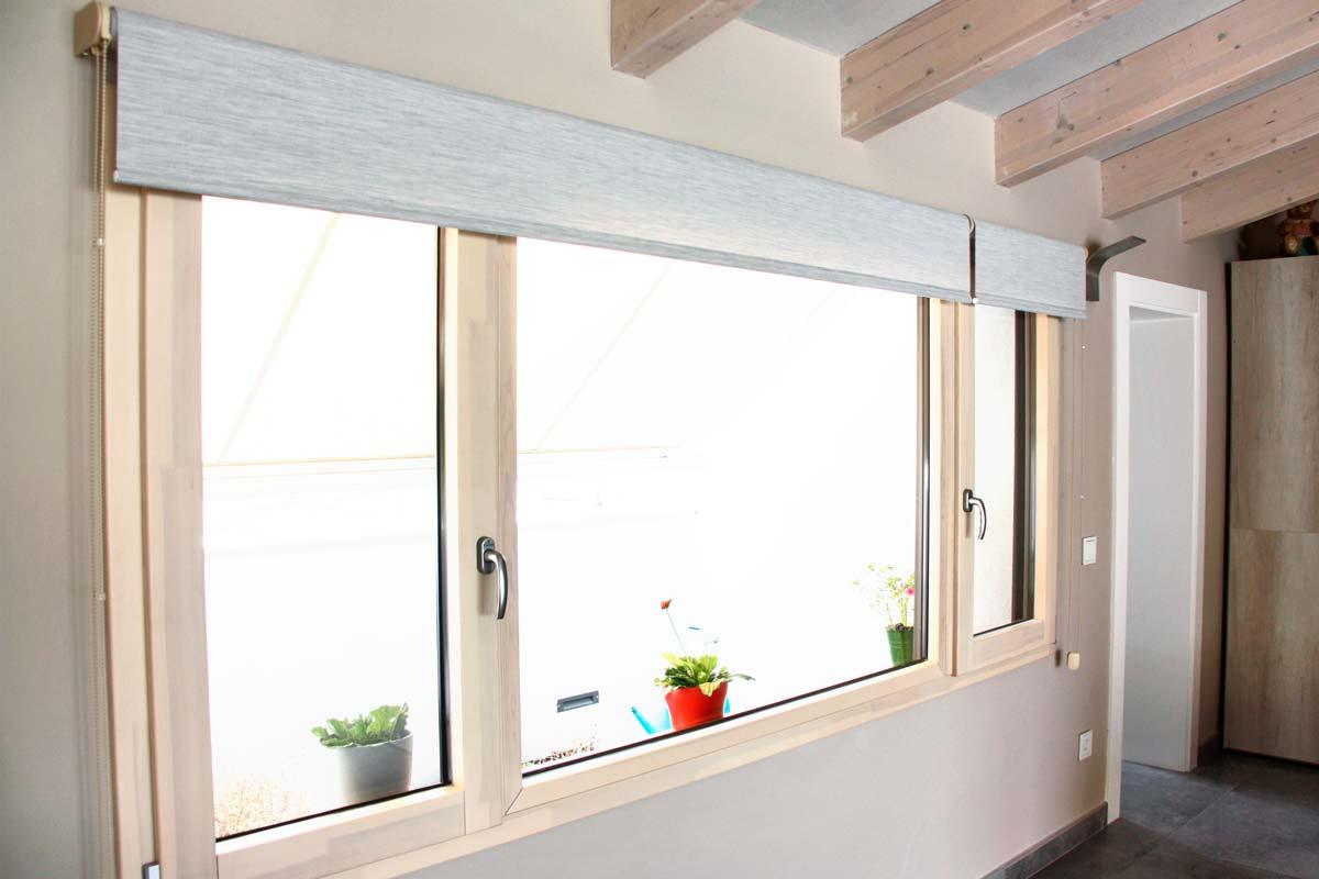 Reforma de finestres de fusta i alumini, finestres mixtes, a Vilanova i la Geltrú- finestrals