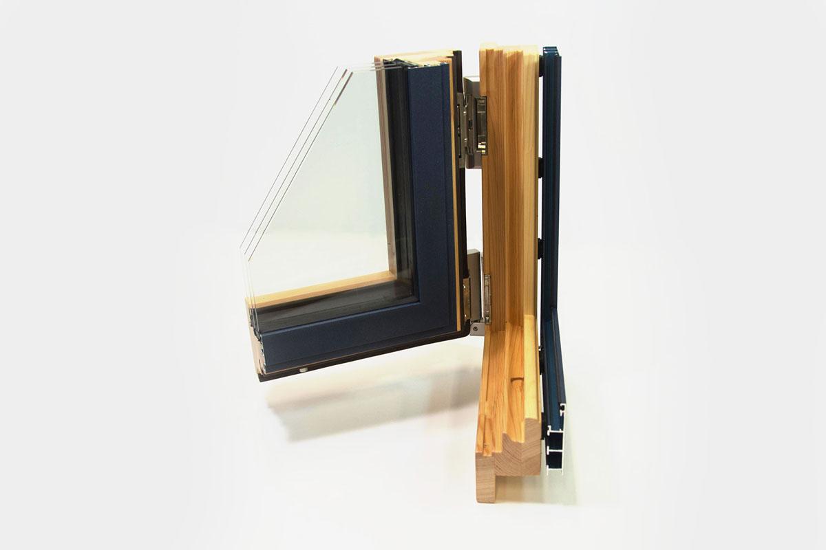 finestres mixtes de fusta i alumini catàleg finestres Carreté Finestres
