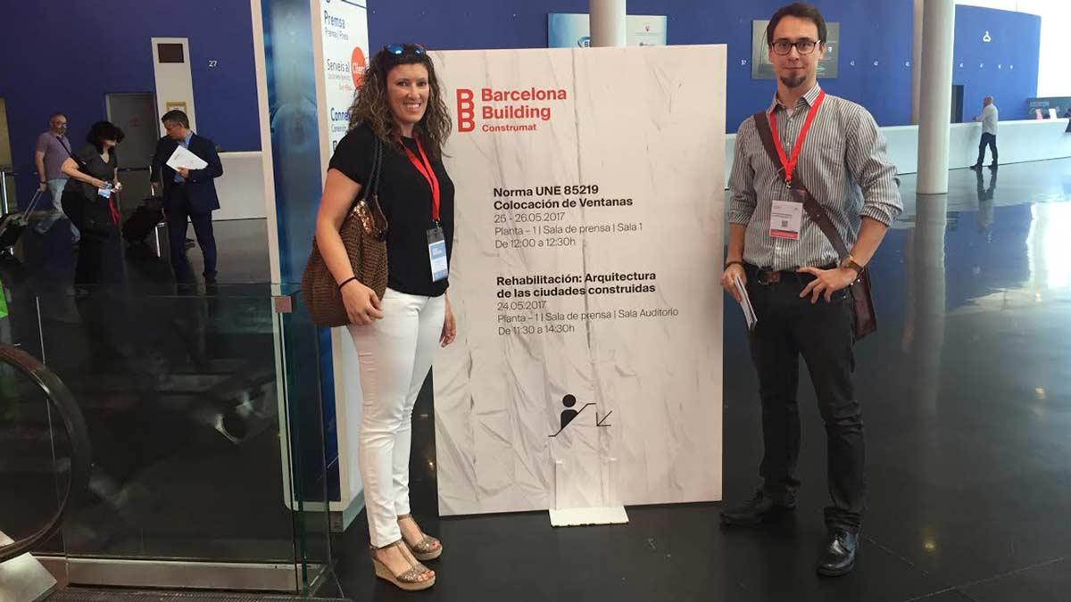 Barcelona Building Construmat equip Carreté Finestres i Adria Garriga arquitecte