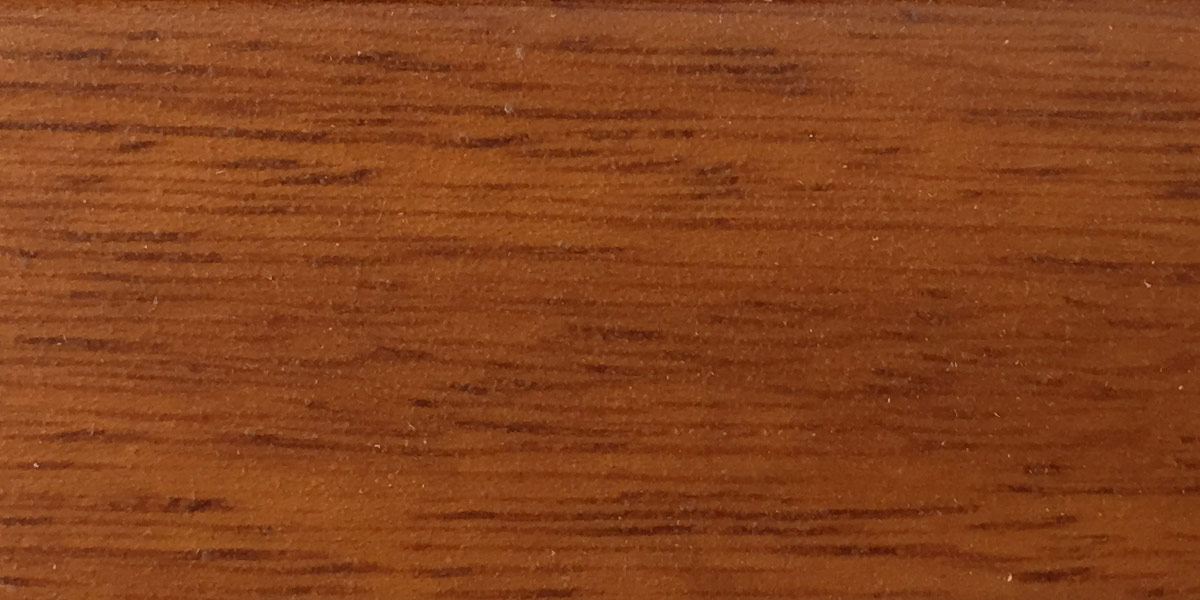 Carreté Finestres - mostrari de colors de finestra de fusta d'iroko teka natur laminada I-549/89 AZ-2130/85