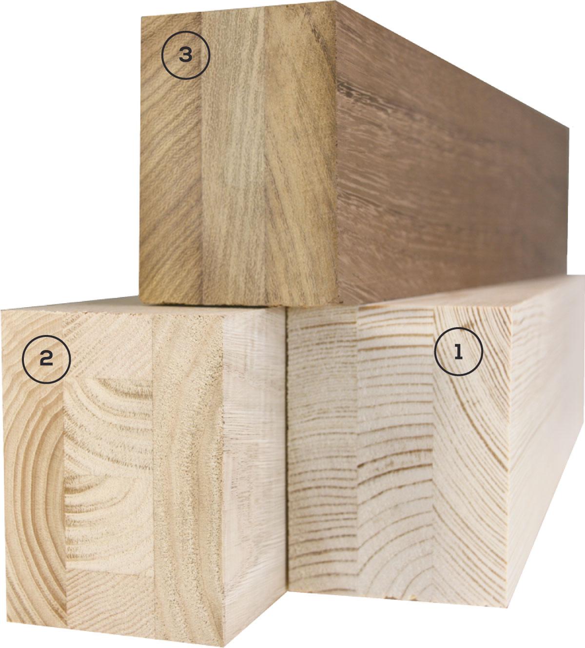 Carreté Finestres - fusta d'iroko, castanyer o pi per a la fabricació de finestres de fusta i alumini