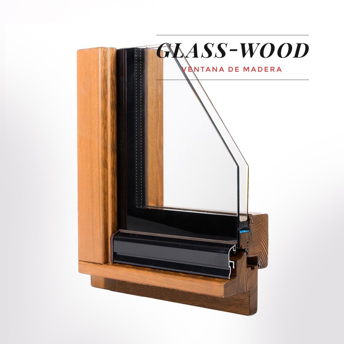 ventana de madera Glass Wood catalogo prdocutos carpinteria Carreté Finestres La Selva del Camp