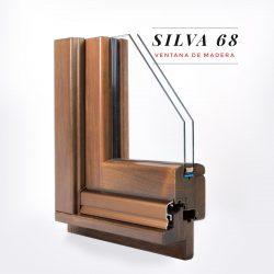 Finestra de fusta Silva 68 - Aïllament tèrmic i acústic - Productes de qualitat de Carreté Finestres
