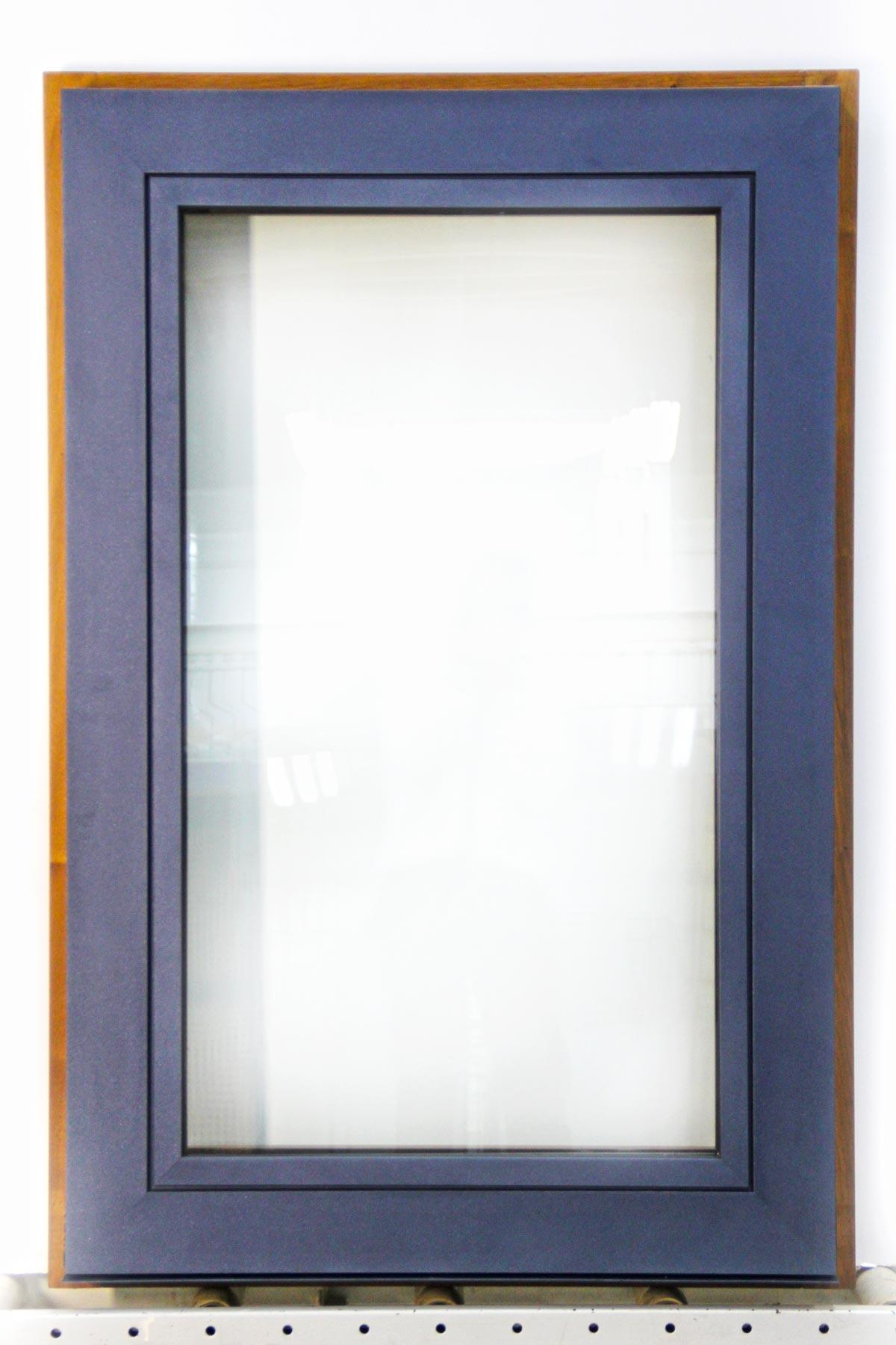 Carreté Finestres - finestra de fusta i alumini Flat