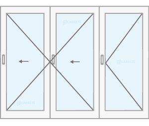 finestra corredissa plegable catàleg finestres de fusta y mixtes Carreté Finestres